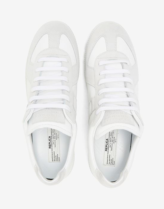 MAISON MARGIELA Calfskin 'Replica' sneaker Sneakers [*** pickupInStoreShippingNotGuaranteed_info ***] a