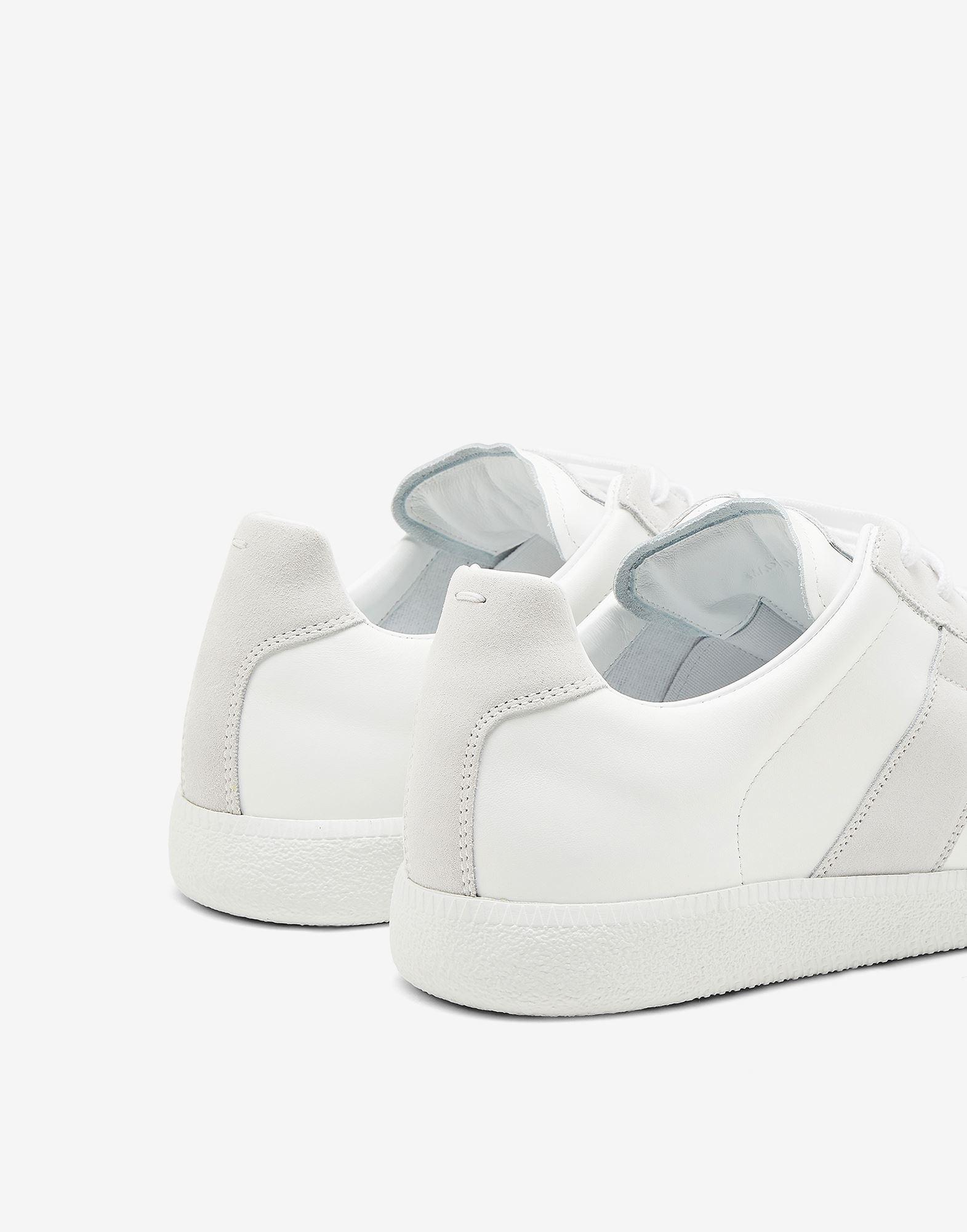 MAISON MARGIELA Basket Replica en cuir de veau Sneakers Homme e