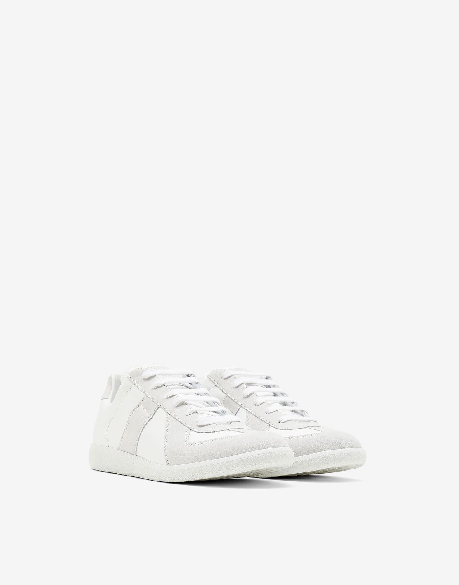MAISON MARGIELA Basket Replica en cuir de veau Sneakers Homme r