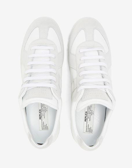 MAISON MARGIELA Basket Replica en cuir de veau Sneakers Homme a