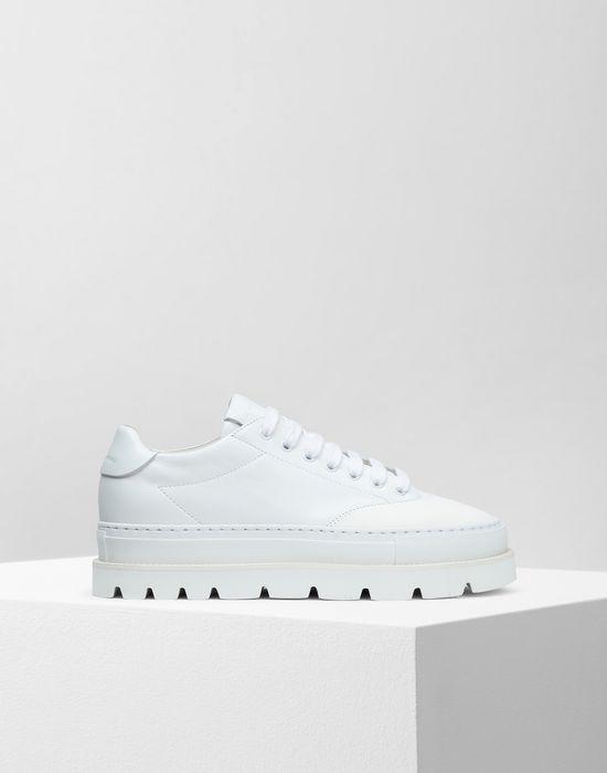 9526831a32 Maison Margiela Sneakers In Pelle Di Vitello Con Suola In Gomma ...