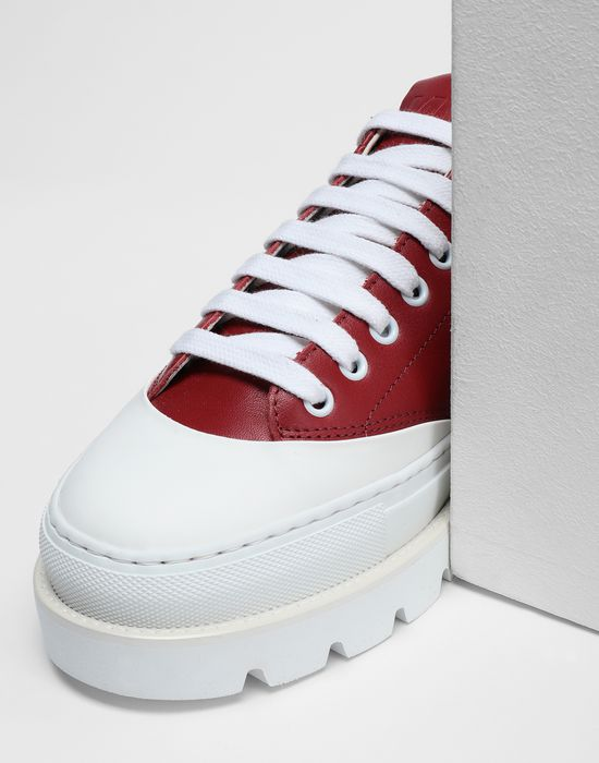 MM6 MAISON MARGIELA Calfskin sneakers with rubber soles Sneakers [*** pickupInStoreShipping_info ***] a