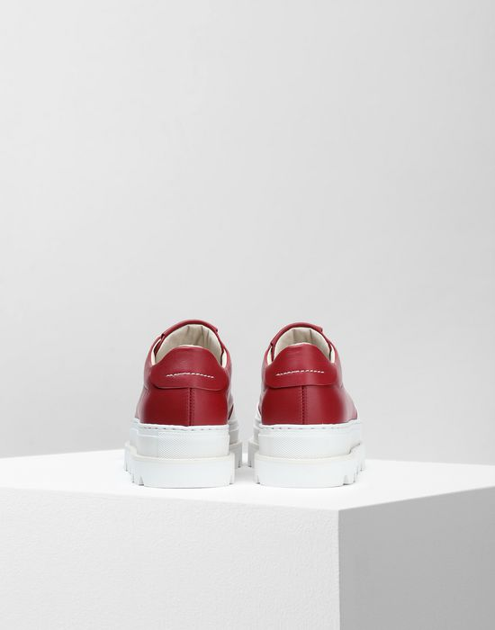 MM6 MAISON MARGIELA Calfskin sneakers with rubber soles Sneakers [*** pickupInStoreShipping_info ***] d