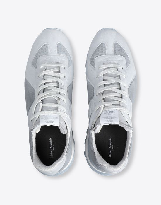 MAISON MARGIELA Painted 'Replica' runner Sneakers [*** pickupInStoreShippingNotGuaranteed_info ***] d