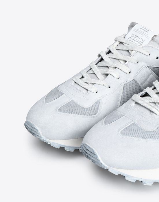 MAISON MARGIELA Painted 'Replica' runner Sneakers [*** pickupInStoreShippingNotGuaranteed_info ***] e