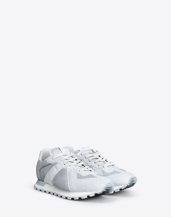 MAISON MARGIELA Painted 'Replica' runner Sneakers [*** pickupInStoreShippingNotGuaranteed_info ***] r
