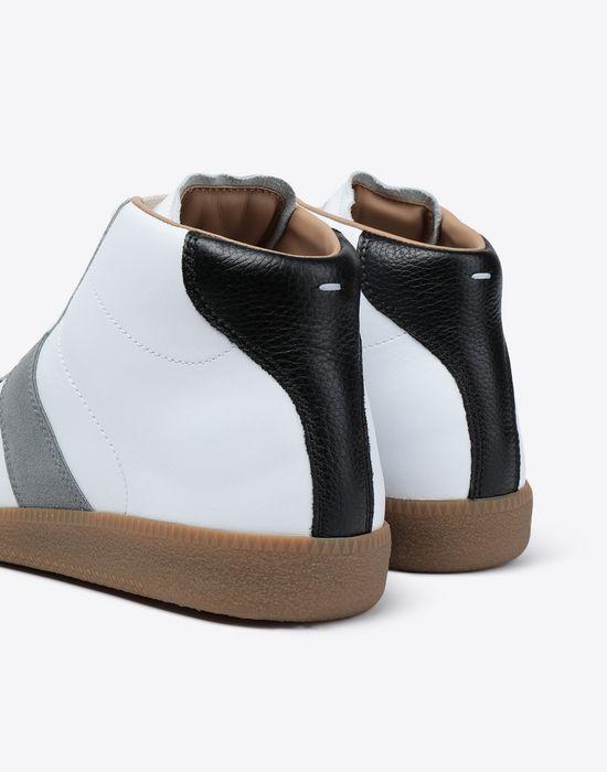 MAISON MARGIELA Tricolour high-top 'Replica' sneakers Sneakers [*** pickupInStoreShippingNotGuaranteed_info ***] a
