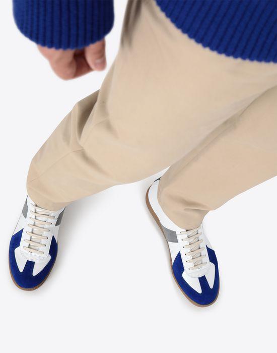 MAISON MARGIELA Tricolour high-top 'Replica' sneakers Sneakers [*** pickupInStoreShippingNotGuaranteed_info ***] b