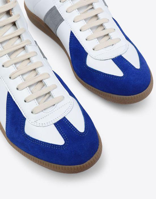 MAISON MARGIELA Tricolour high-top 'Replica' sneakers Sneakers [*** pickupInStoreShippingNotGuaranteed_info ***] e