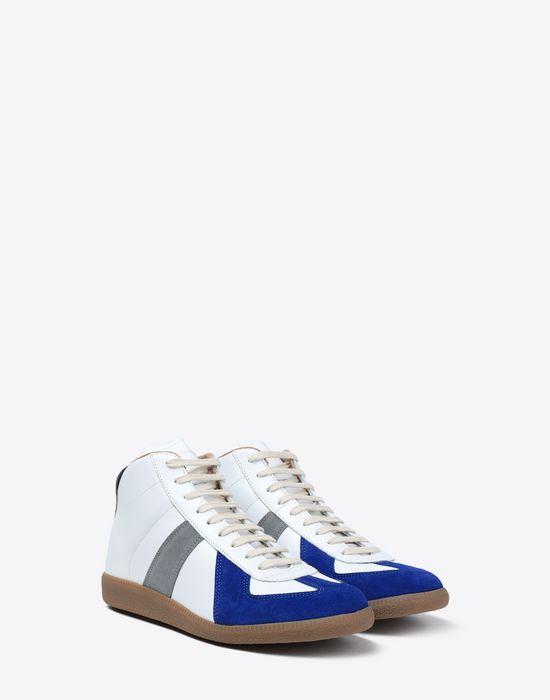 MAISON MARGIELA Tricolour high-top 'Replica' sneakers Sneakers [*** pickupInStoreShippingNotGuaranteed_info ***] r