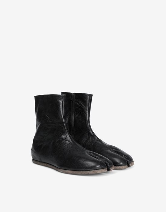 MAISON MARGIELA Tabi flat ankle boots Ankle boots [*** pickupInStoreShippingNotGuaranteed_info ***] d