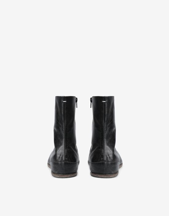 MAISON MARGIELA Tabi flat ankle boots ショートブーツ [*** pickupInStoreShippingNotGuaranteed_info ***] e