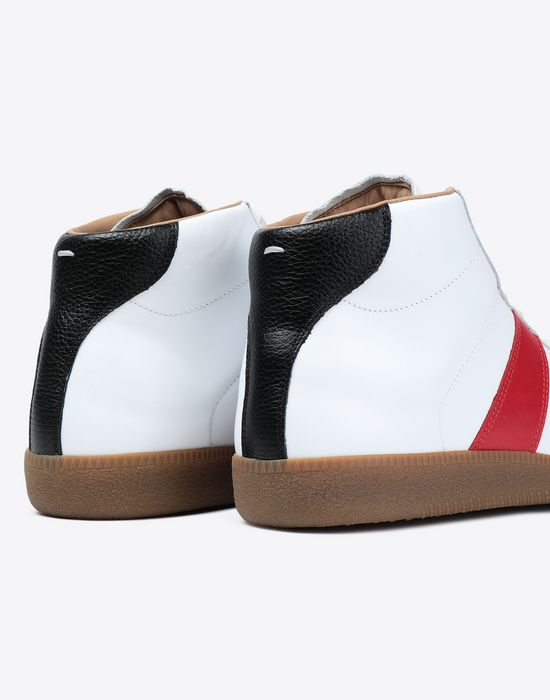 MAISON MARGIELA Tricolor High-top 'Replica' sneakers Sneakers [*** pickupInStoreShippingNotGuaranteed_info ***] a