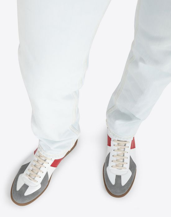 MAISON MARGIELA Tricolor High-top 'Replica' sneakers Sneakers [*** pickupInStoreShippingNotGuaranteed_info ***] b