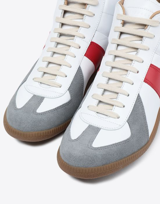 MAISON MARGIELA Tricolor High-top 'Replica' sneakers Sneakers [*** pickupInStoreShippingNotGuaranteed_info ***] e