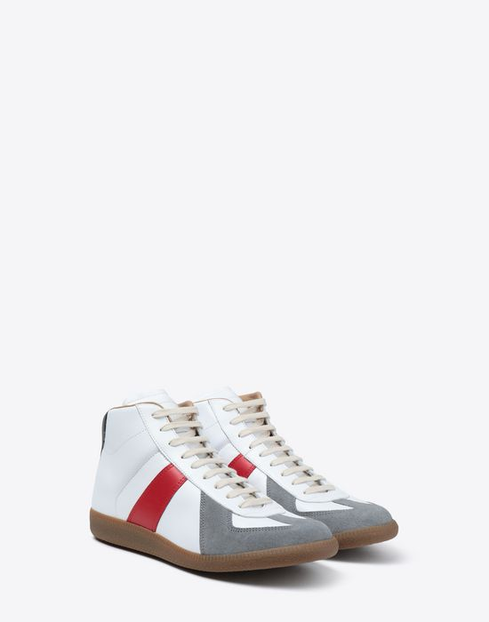 MAISON MARGIELA Tricolor High-top 'Replica' sneakers Sneakers [*** pickupInStoreShippingNotGuaranteed_info ***] r