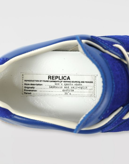 MAISON MARGIELA カーフスキン 'Replica' スニーカー スニーカー [*** pickupInStoreShippingNotGuaranteed_info ***] b
