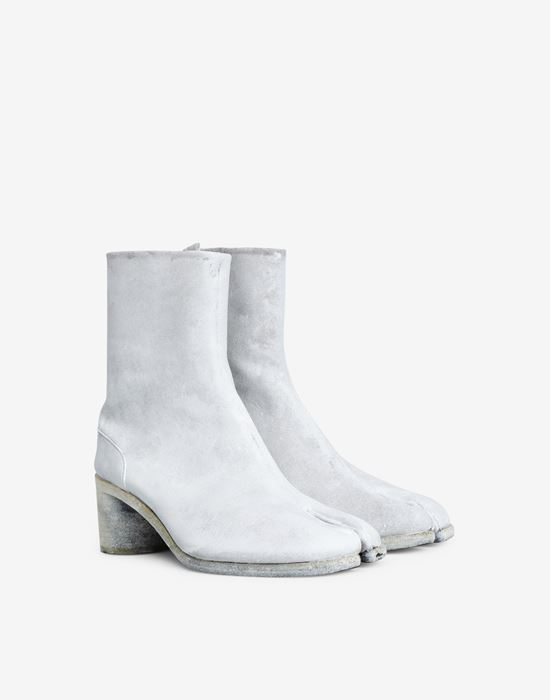 MAISON MARGIELA Painted Tabi ankle boots Tabi boots [*** pickupInStoreShippingNotGuaranteed_info ***] d