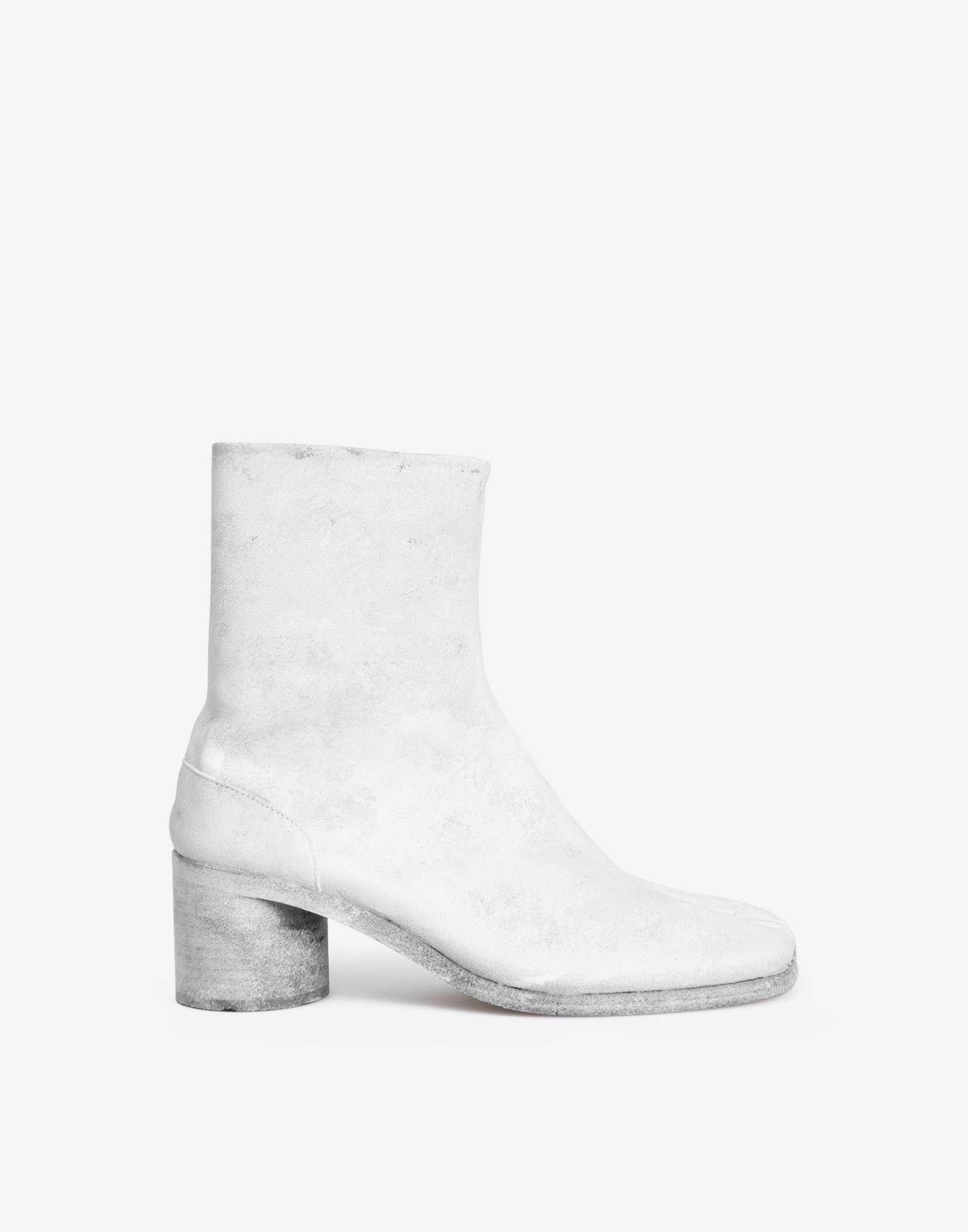 MAISON MARGIELA Painted Tabi ankle boots Tabi boots Man f