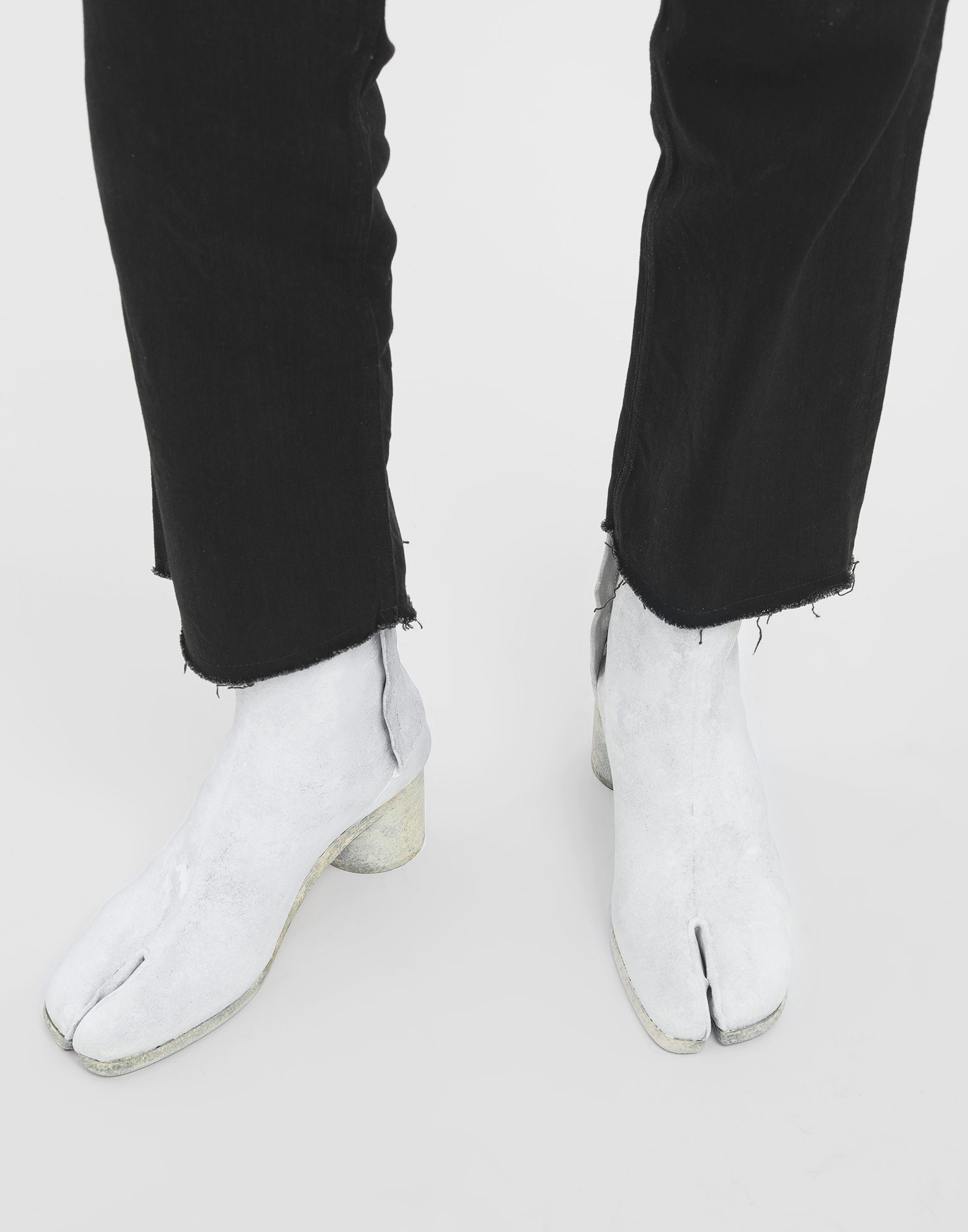 MAISON MARGIELA Painted Tabi ankle boots Tabi boots Man r