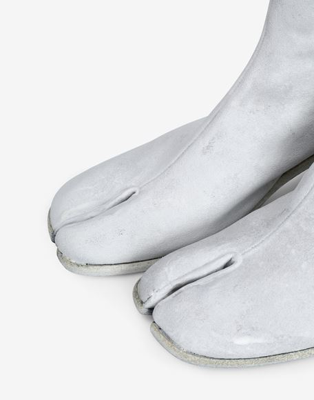 MAISON MARGIELA Painted Tabi ankle boots Tabi boots Man b