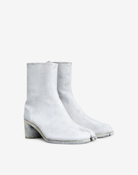 MAISON MARGIELA Painted Tabi ankle boots Tabi boots Man d
