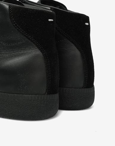 SHOES Replica high top sneakers Black