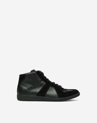 MAISON MARGIELA Sneakers Man Embossed High-top 'Replica' sneakers f