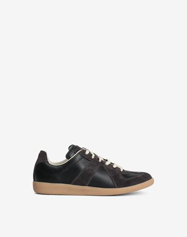 SHOES Low-top 'Replica' sneaker Black