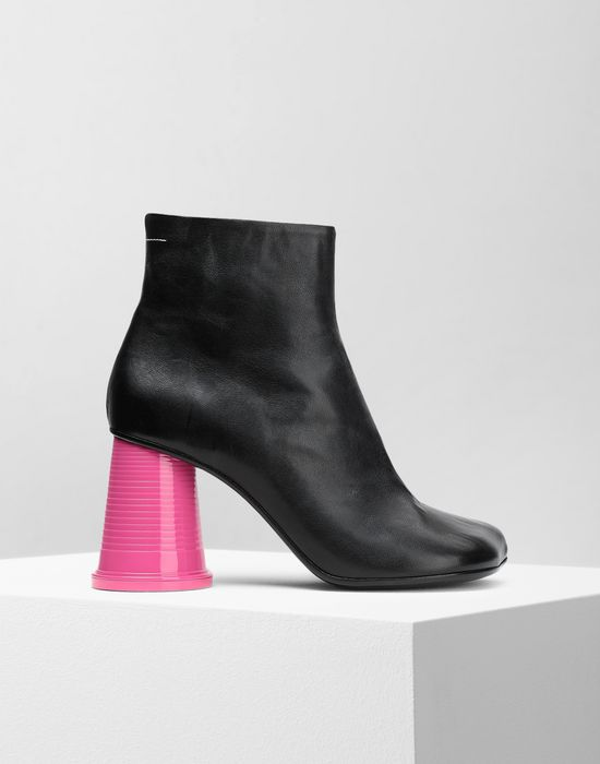 MM6 MAISON MARGIELA Ankle boots with cup heels Ankle boots [*** pickupInStoreShipping_info ***] f