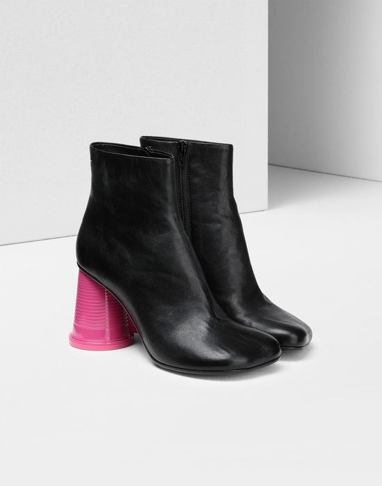 MM6 MAISON MARGIELA Ankle boots with cup heels Ankle boots [*** pickupInStoreShipping_info ***] r