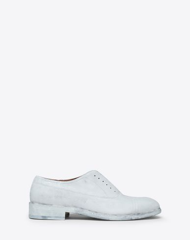MAISON MARGIELA Laced shoes Man Painted lace-up icons f