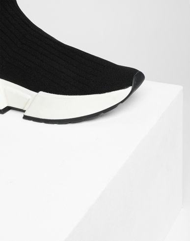 SHOES Flare sock sneakers Black