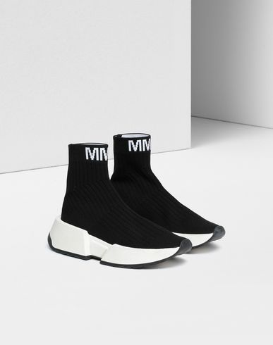 MM6 MAISON MARGIELA Sneakers Woman Flare sock sneakers r