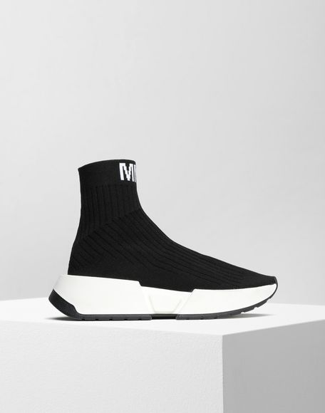 MM6 MAISON MARGIELA Flare sock sneakers Sneakers Woman f