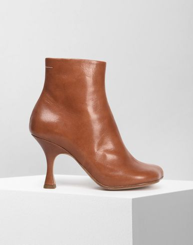 52abaa6c1014 MM6 MAISON MARGIELA Ankle boots      pickupInStoreShipping info      Flared  heel