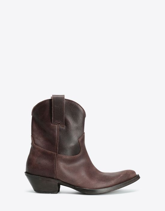 MAISON MARGIELA Waxed cowboy boots Ankle boots [*** pickupInStoreShippingNotGuaranteed_info ***] f