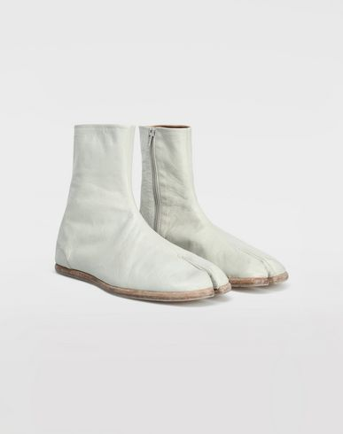 SHOES Tabi ankle boots Ivory