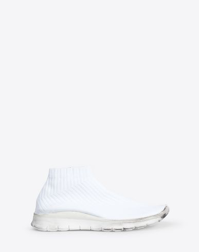 MAISON MARGIELA Sneakers Man Low-top knit sock sneaker f