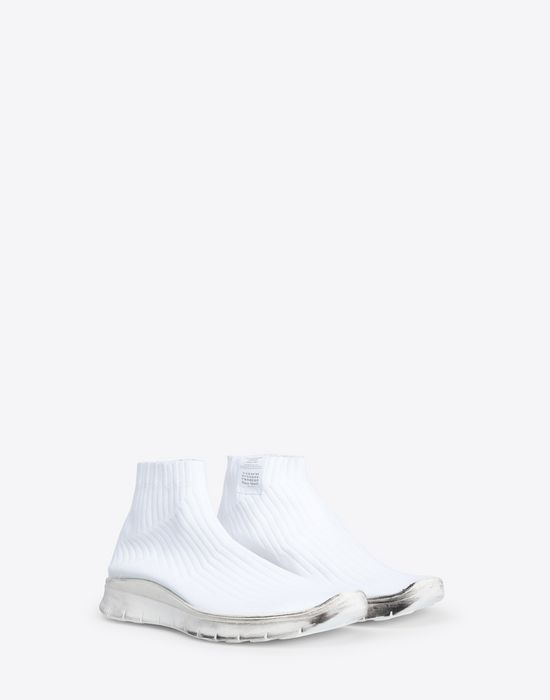 MAISON MARGIELA Low-top knit sock sneaker Sneakers [*** pickupInStoreShippingNotGuaranteed_info ***] r