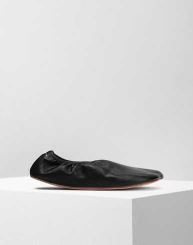 MM6 MAISON MARGIELA バレリーナ風パンプス レディース Anatomical leather ballerina f