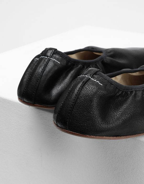 MM6 MAISON MARGIELA Anatomical leather ballerina Ballet flats [*** pickupInStoreShipping_info ***] a