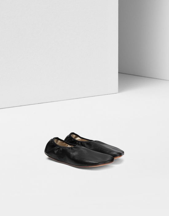 MM6 MAISON MARGIELA Anatomical leather ballerina Ballet flats [*** pickupInStoreShipping_info ***] r