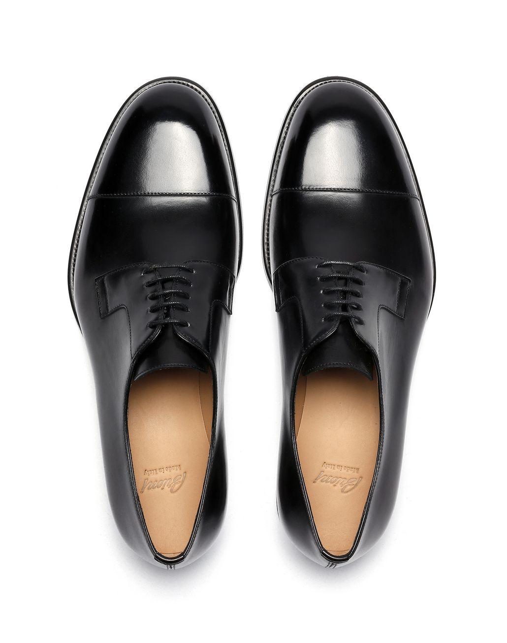 BRIONI Чёрные дерби из телячьей кожи Классическая обувь [*** pickupInStoreShippingNotGuaranteed_info ***] r
