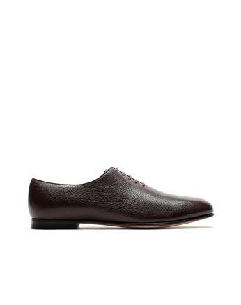Тёмно-коричневые туфли на шнуровке Foot Glove