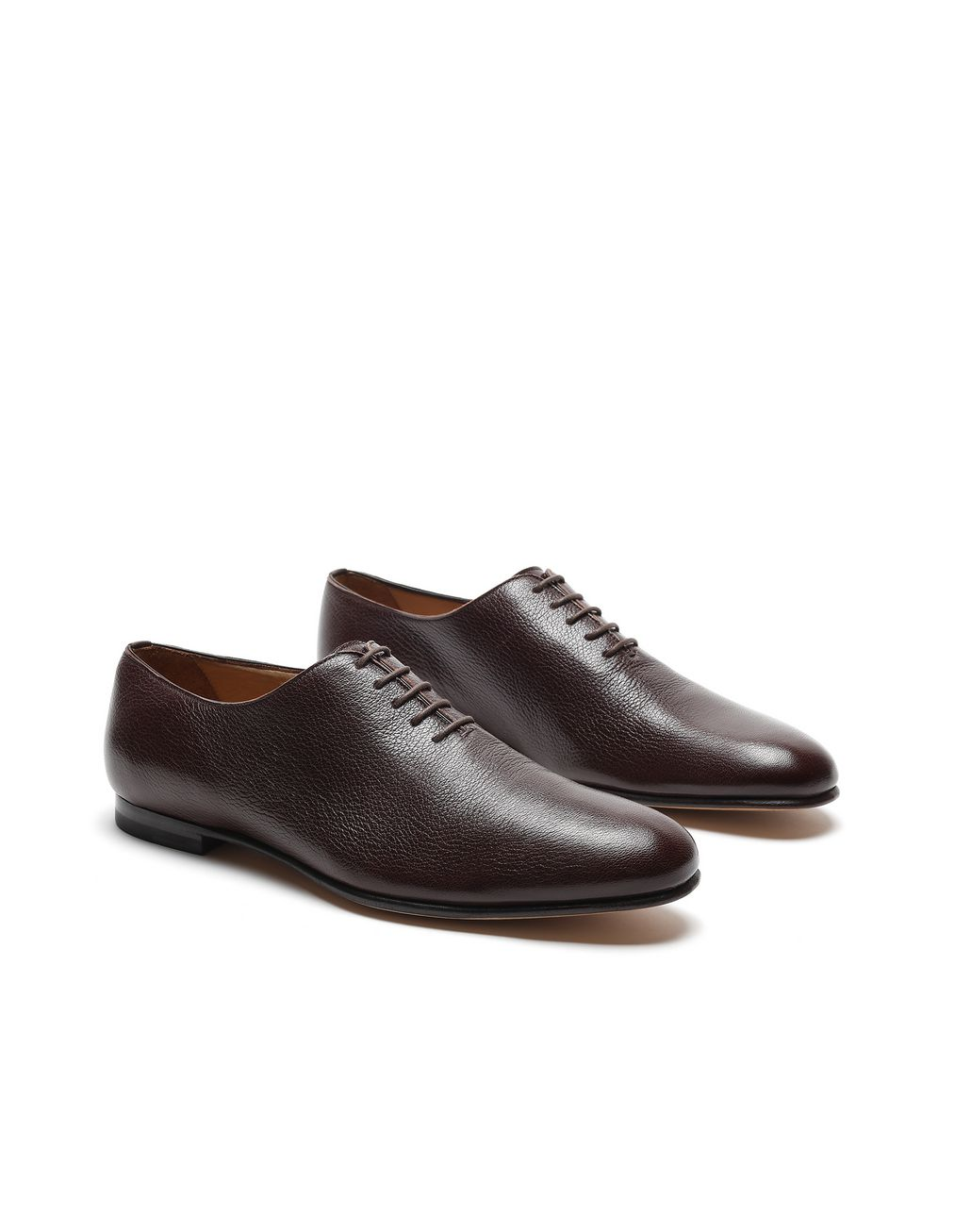 BRIONI Dark Brown Foot Glove Lace-up Formal shoes Man d