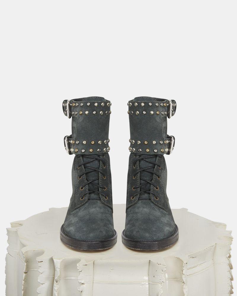 TEYLON 铆钉装饰踝靴 ISABEL MARANT