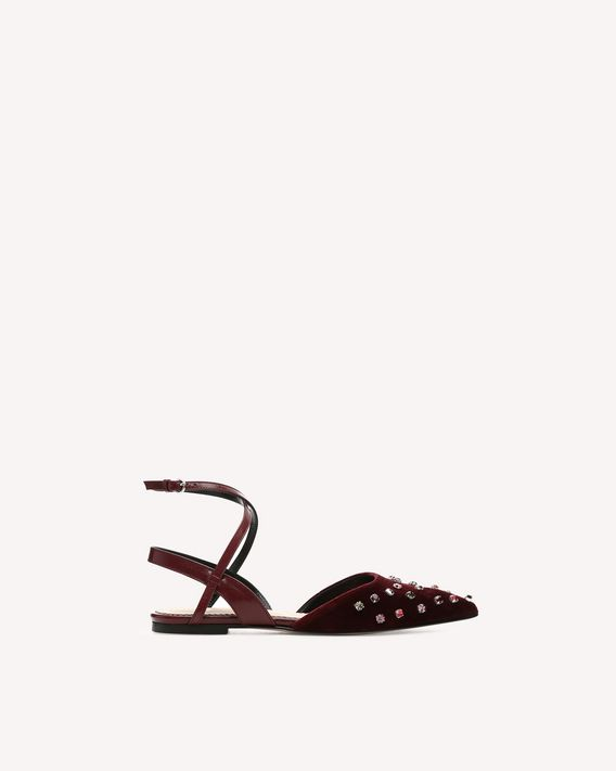 REDValentino BALLERINES SLEEK