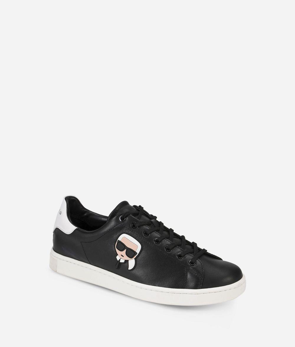 KARL LAGERFELD Kourt Karl Ikonik Lo Lace  Sneakers E f