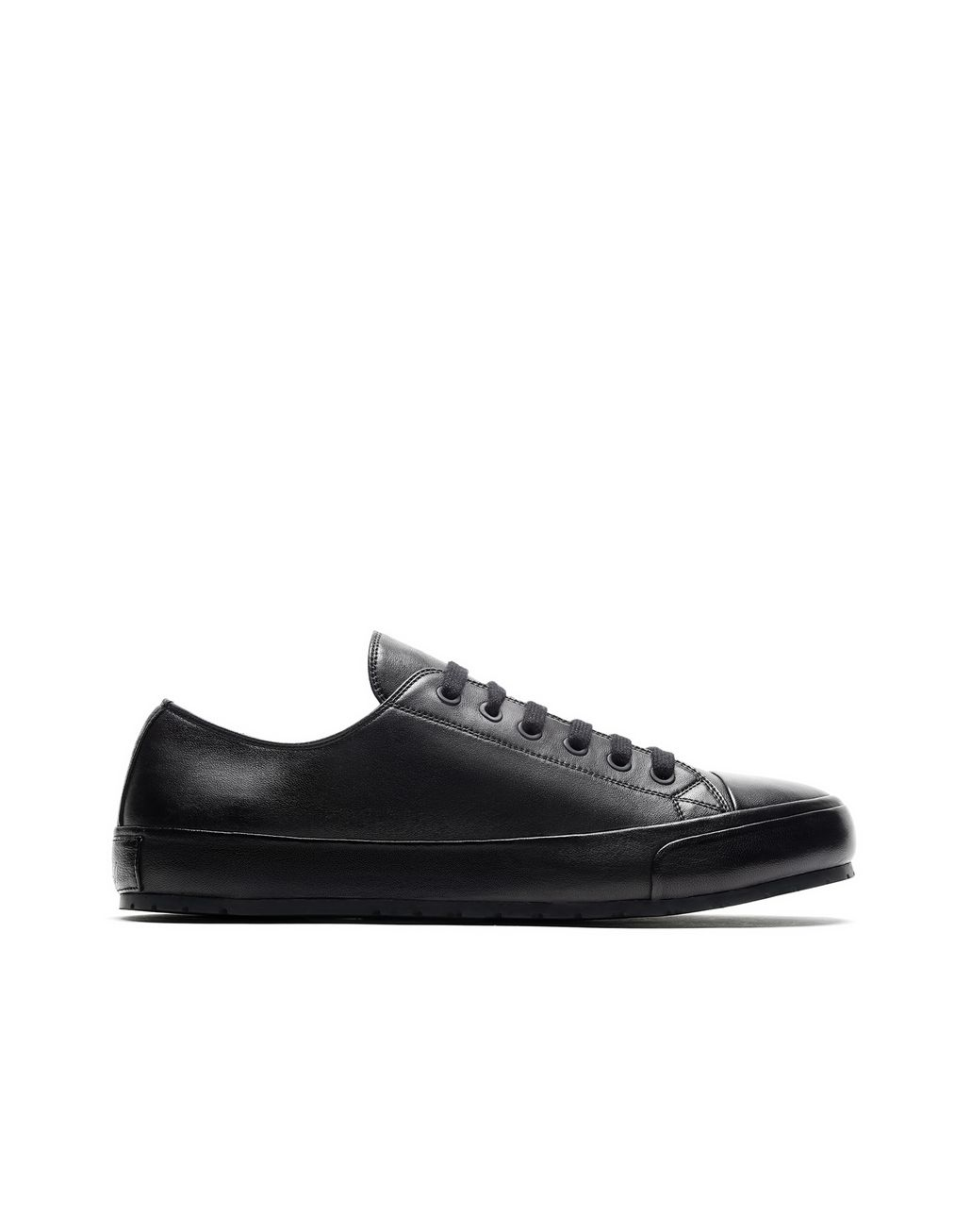 BRIONI Black Nappa Sneakers Sneakers [*** pickupInStoreShippingNotGuaranteed_info ***] f